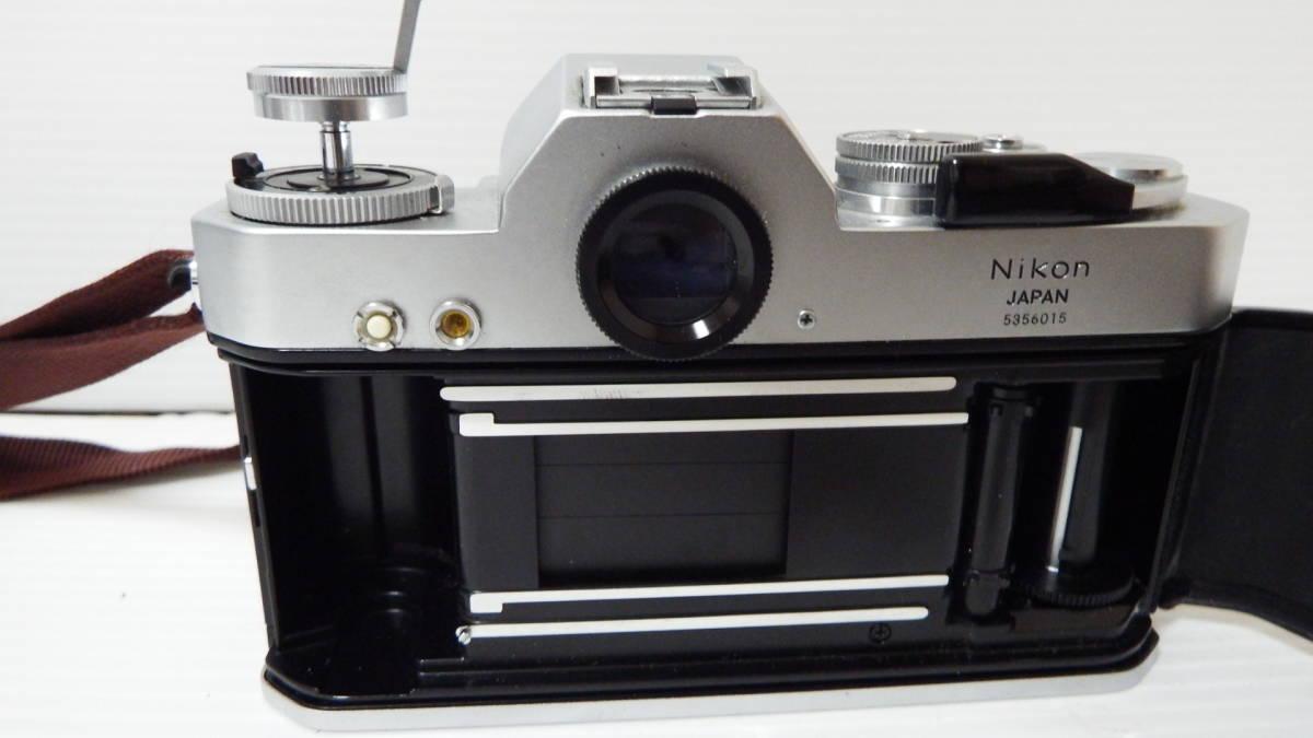 Nikon Nikomat EL NIKKOR 55mm1:12 ※ジャンク品_画像4