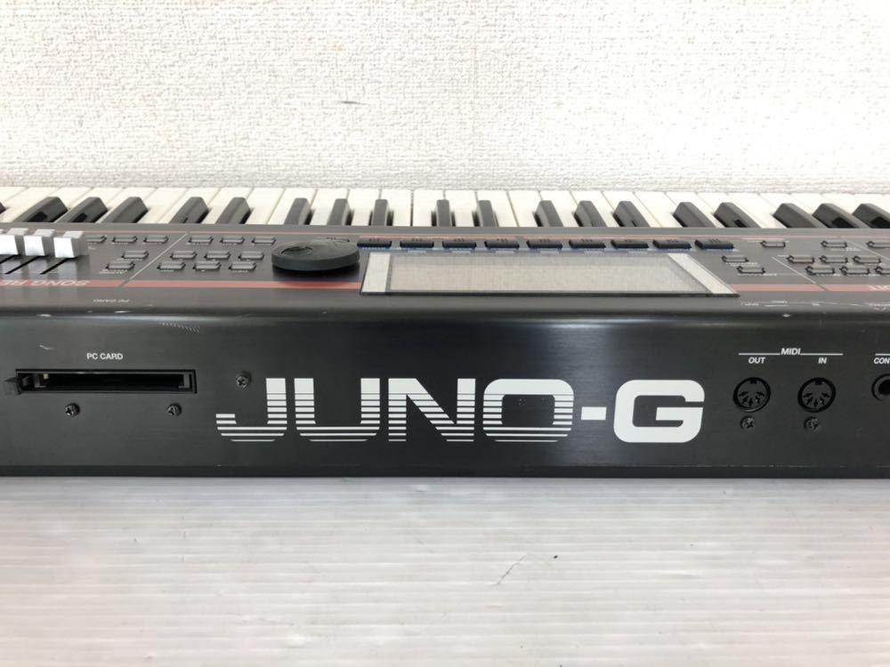 h071606 Roland JUNO-G シンセサイザー 128音 61鍵_画像7