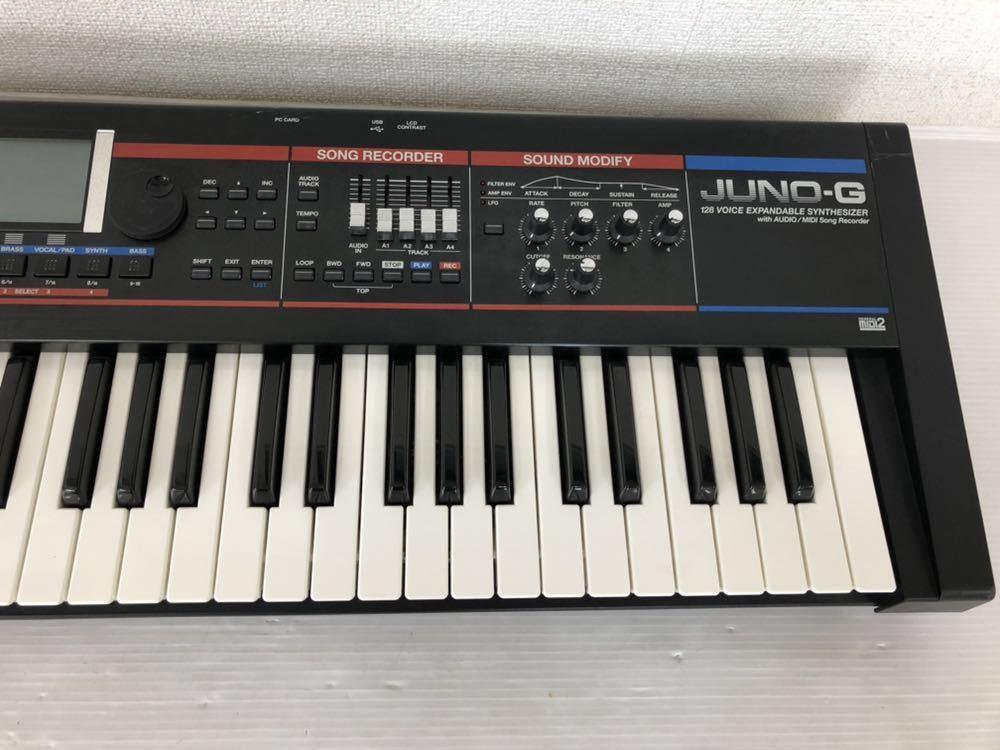 h071606 Roland JUNO-G シンセサイザー 128音 61鍵_画像5