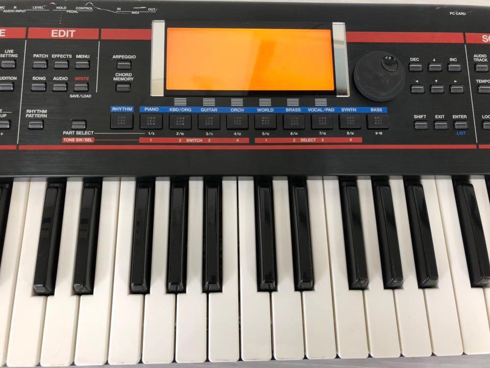 h071606 Roland JUNO-G シンセサイザー 128音 61鍵_画像3