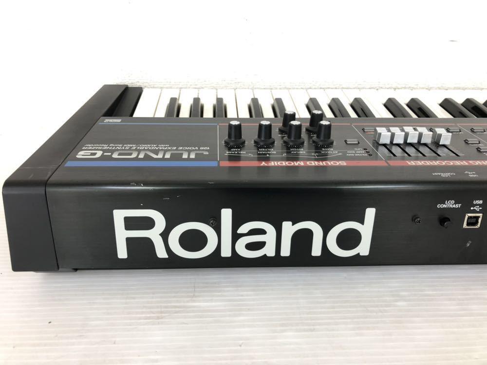 h071606 Roland JUNO-G シンセサイザー 128音 61鍵_画像6