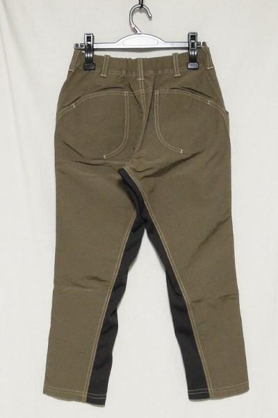 極美品 アンドワンダー 60/40クロスリブパンツ レディース サイズ1 and wander 60/40 cloth rib pants_画像2