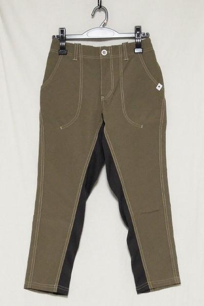 極美品 アンドワンダー 60/40クロスリブパンツ レディース サイズ1 and wander 60/40 cloth rib pants