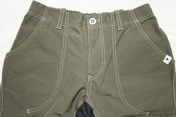 極美品 アンドワンダー 60/40クロスリブパンツ レディース サイズ1 and wander 60/40 cloth rib pants_画像3