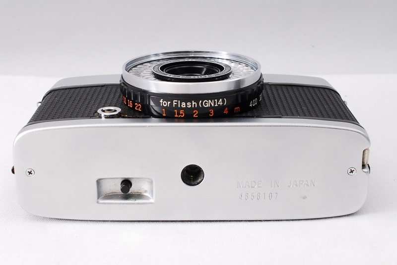 ★希少美品★カメラ女子必見です!!OLYMPUS オリンパス PEN EE-3 D.Zuiko 3.5 28mm 動作良好 フィルムカメラ初心者の方におススメ!!_画像5