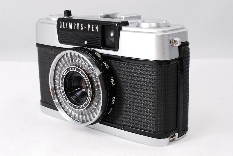 ★希少美品★カメラ女子必見です!!OLYMPUS オリンパス PEN EE-3 D.Zuiko 3.5 28mm 動作良好 フィルムカメラ初心者の方におススメ!!_画像7