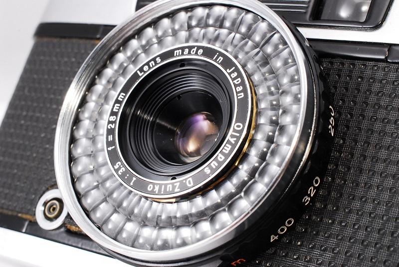 ★希少美品★カメラ女子必見です!!OLYMPUS オリンパス PEN EE-3 D.Zuiko 3.5 28mm 動作良好 フィルムカメラ初心者の方におススメ!!_画像9