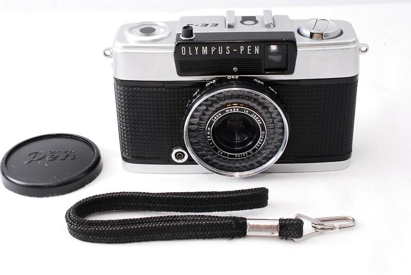 ★希少美品★カメラ女子必見です!!OLYMPUS オリンパス PEN EE-3 D.Zuiko 3.5 28mm 動作良好 フィルムカメラ初心者の方におススメ!!_画像2