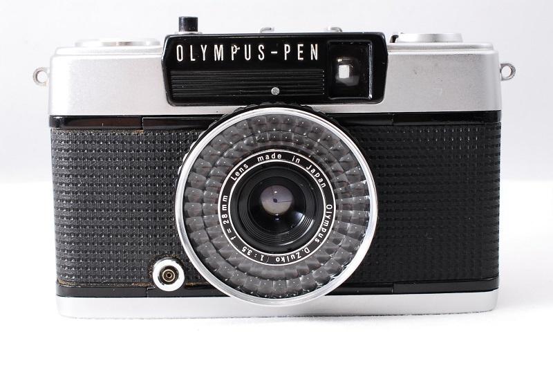★希少美品★カメラ女子必見です!!OLYMPUS オリンパス PEN EE-3 D.Zuiko 3.5 28mm 動作良好 フィルムカメラ初心者の方におススメ!!
