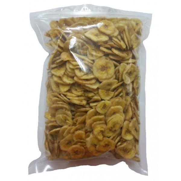 バナナチップス 8kg (1kgx8袋) チャック袋 ココナッツオイル使用 フィリピン産 黒田屋_画像3