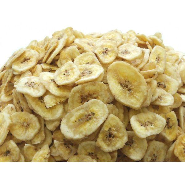バナナチップス 8kg (1kgx8袋) チャック袋 ココナッツオイル使用 フィリピン産 黒田屋_画像1