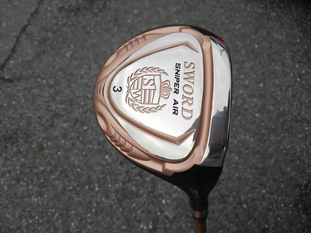 超美品 カタナゴルフ SWORD SNIPER AIR 3W フェアウェイウッド スナイパー スウォード SR_画像2