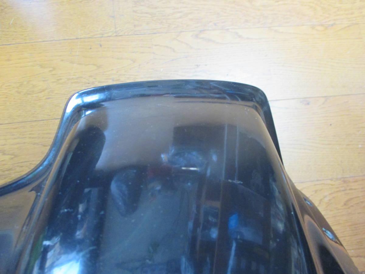 旧車 モトコ MOTOCO ビキニカウル アッパーカウル ライトカウル 21パイ 当事物 割れ欠け無し_画像8