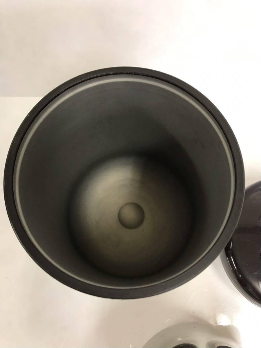 【中古】THERMOS サーモス shuttle chef シャトルシェフ 真空保温調理鍋 KPO-1200 ダークチェリー 箱、説明書なし d60/7b_画像3