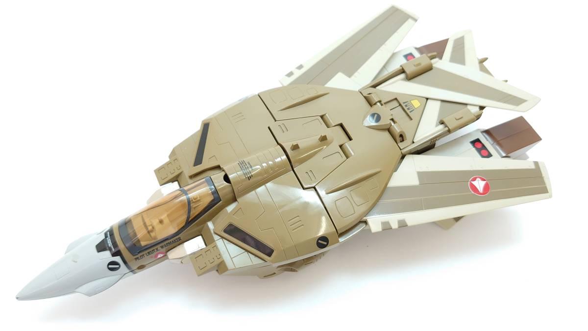 1/55 VF-1A バルキリー 量産機 ジャンク バンダイ BANDAI ビッグウェスト マクロス macross 完全変形 ファイター ガウォーク バトロイド_画像3