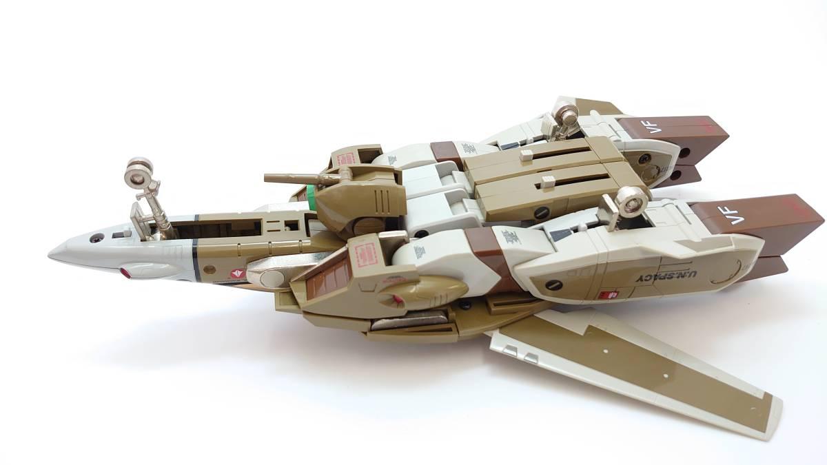 1/55 VF-1A バルキリー 量産機 ジャンク バンダイ BANDAI ビッグウェスト マクロス macross 完全変形 ファイター ガウォーク バトロイド_画像9