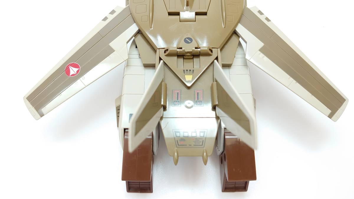 1/55 VF-1A バルキリー 量産機 ジャンク バンダイ BANDAI ビッグウェスト マクロス macross 完全変形 ファイター ガウォーク バトロイド_画像5