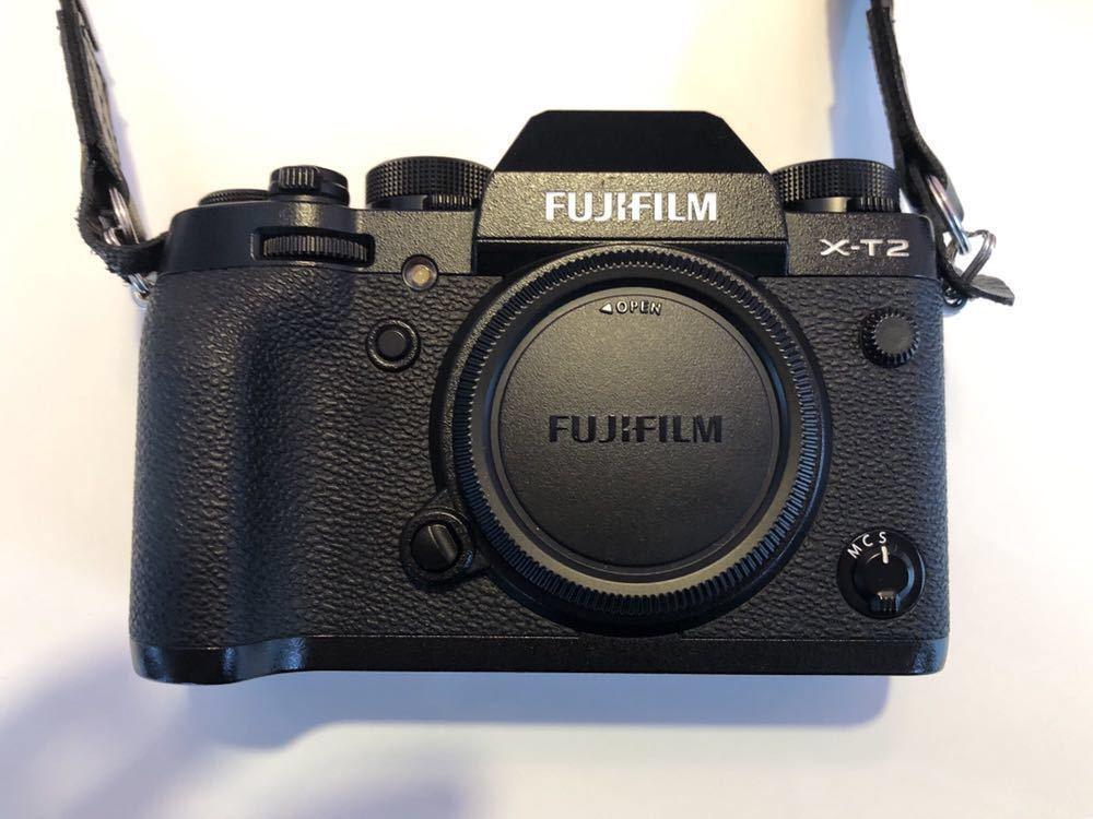 美品 FUJIFILM X-T2 ボディ 富士フイルム フジフイルム 付属品