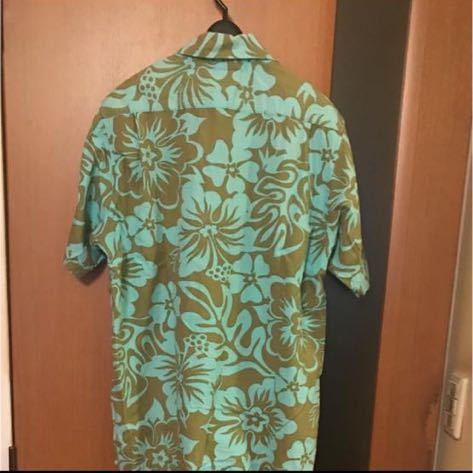 希少『STUSSY』90s USA製 花柄シャツ VINTAGE ステューシー ビンテージ ストリートアロハシャツ ハワイアンシャツ 半袖シャツ_画像3