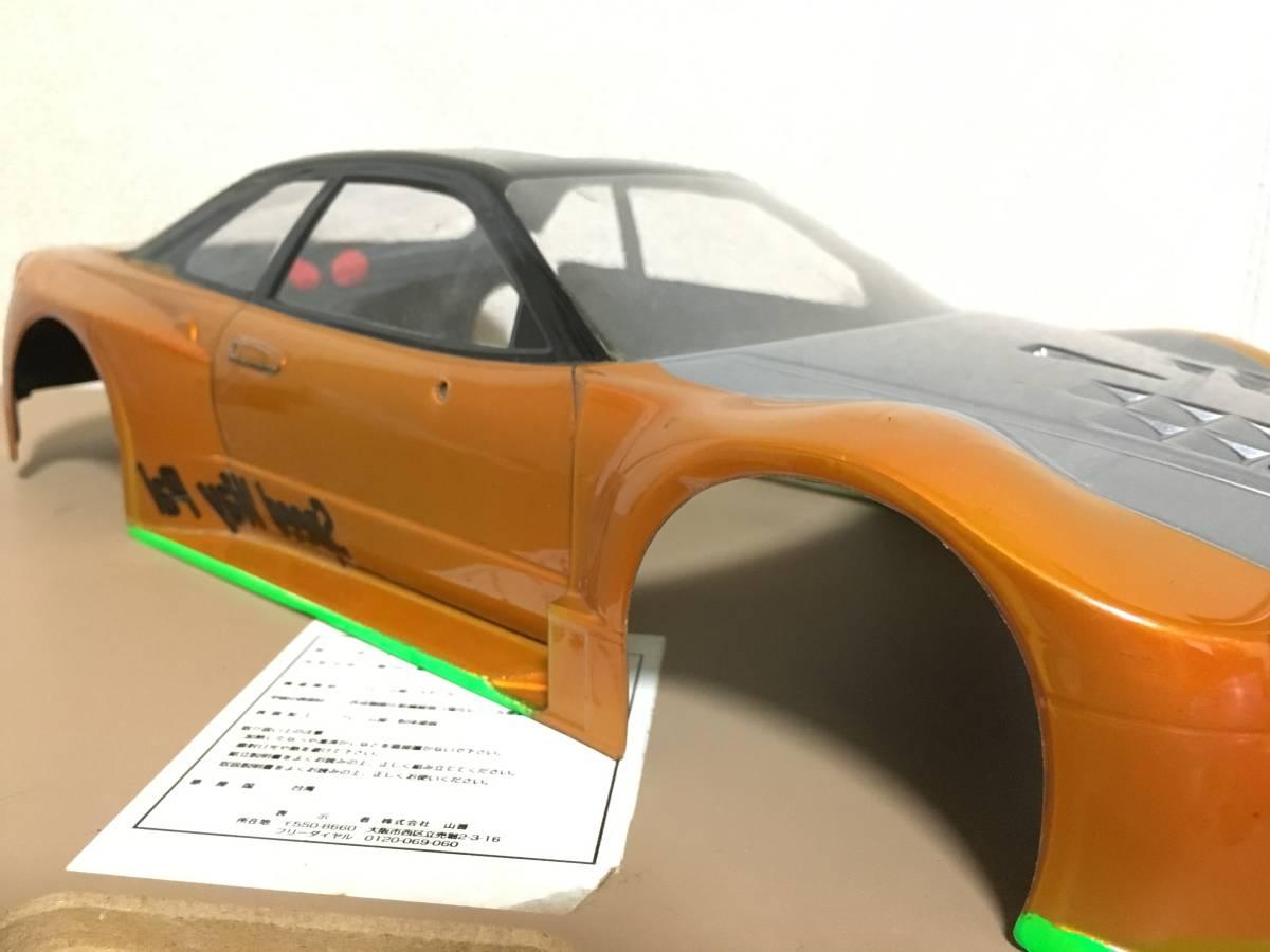 タミヤ GT-R R34 スカイライン 塗装済 ボディ ドリパケTTTAOTACERVDFoverdose 2駆 4駆 ラジドリ ドリラジ ラジコン_画像3