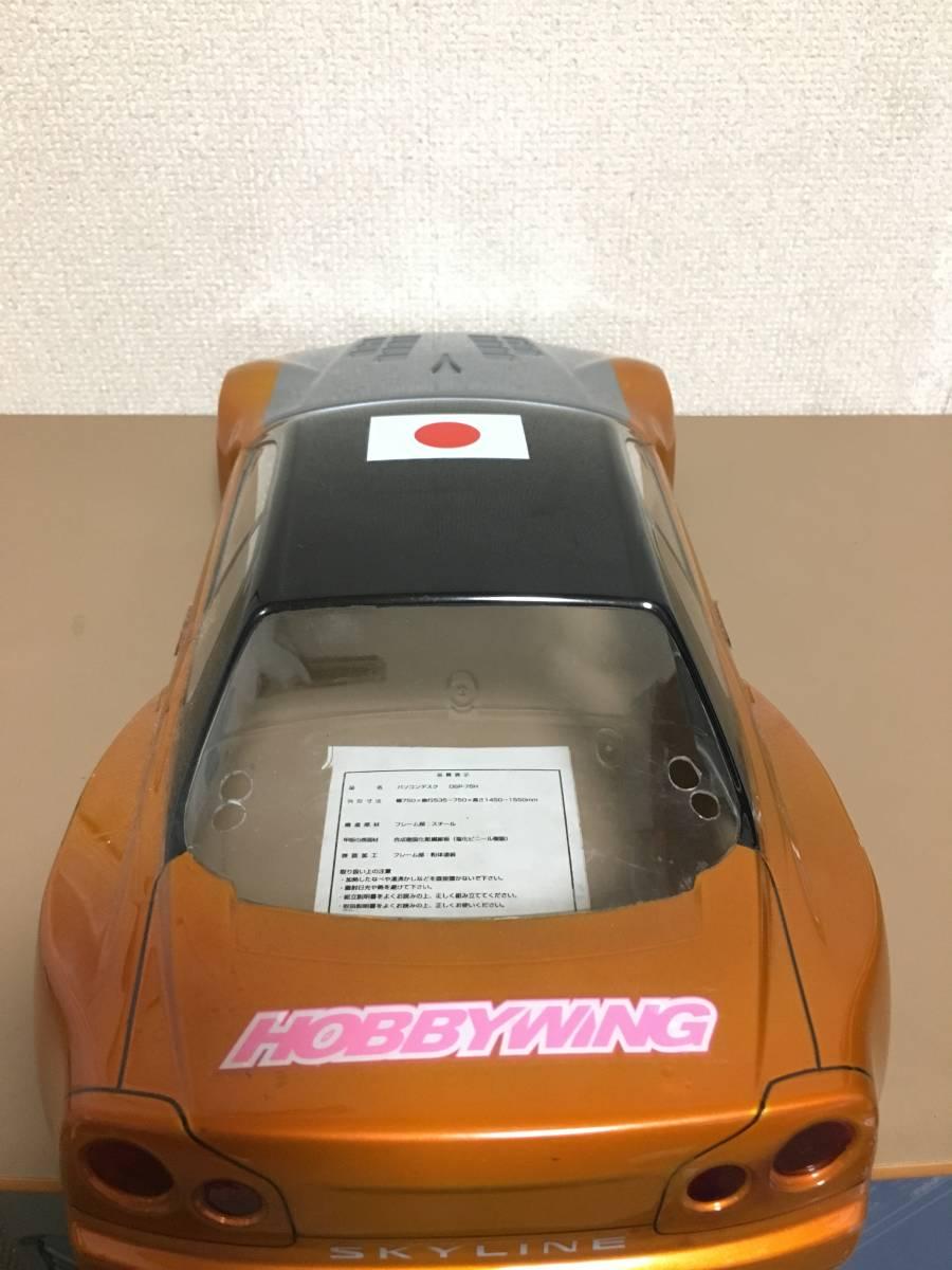 タミヤ GT-R R34 スカイライン 塗装済 ボディ ドリパケTTTAOTACERVDFoverdose 2駆 4駆 ラジドリ ドリラジ ラジコン_画像4