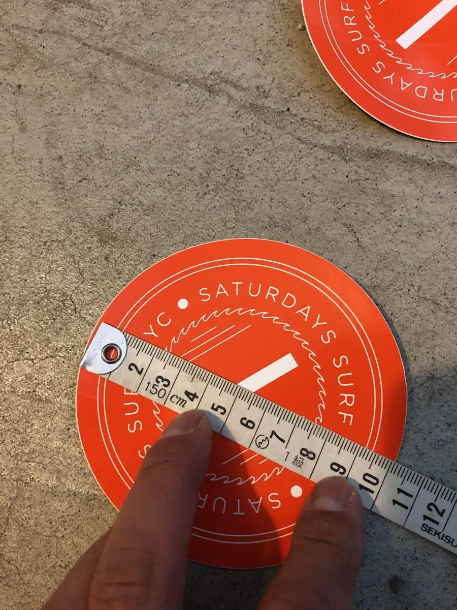 SATURDAYS SURF NYC サタデーズ サーフ NYC ステッカー 6枚セット_画像5
