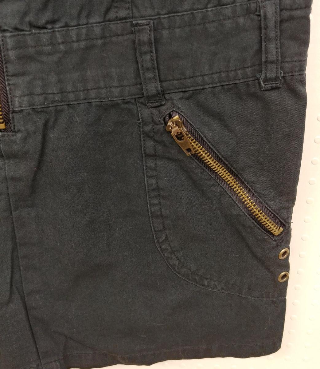 RAYALICE 女児ワンピース ノースリーブ 襟つき  サイズ:140㎝ QUAL:綿100% col:ブラック 新品未使用(タグ付き) _画像4