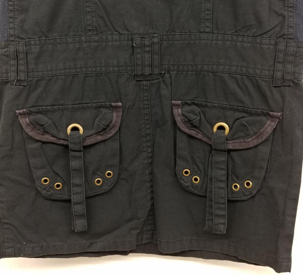 RAYALICE 女児ワンピース ノースリーブ 襟つき  サイズ:140㎝ QUAL:綿100% col:ブラック 新品未使用(タグ付き) _画像5