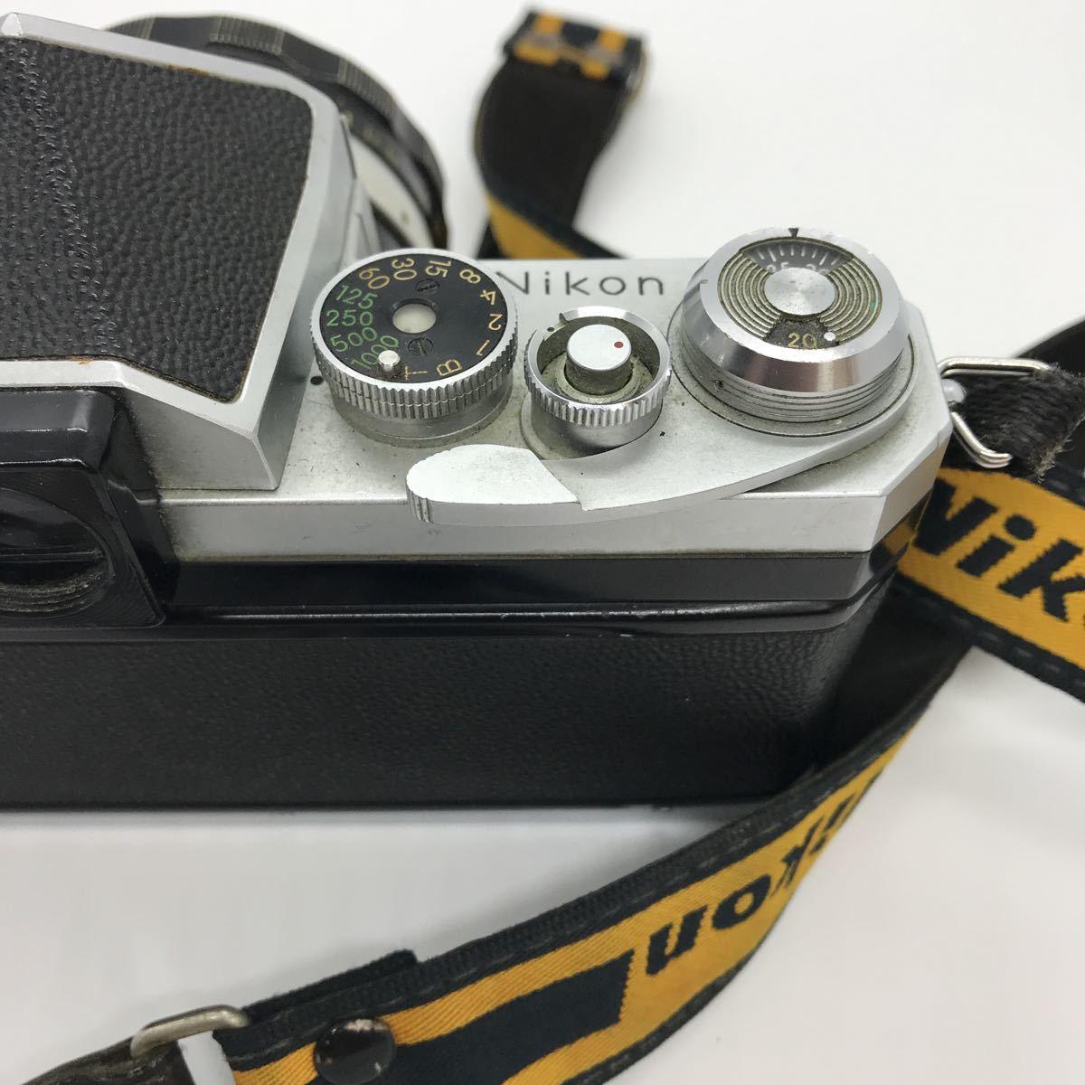 NIKON ニコン F 初期 アイレベル NIKKOR-S 1:1.4 50mm 一眼レフカメラ_画像5