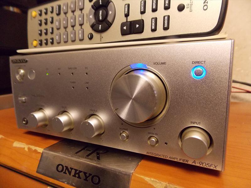 ONKYO A-905FX 動作・状態良好 リモコン・取説付属_画像2