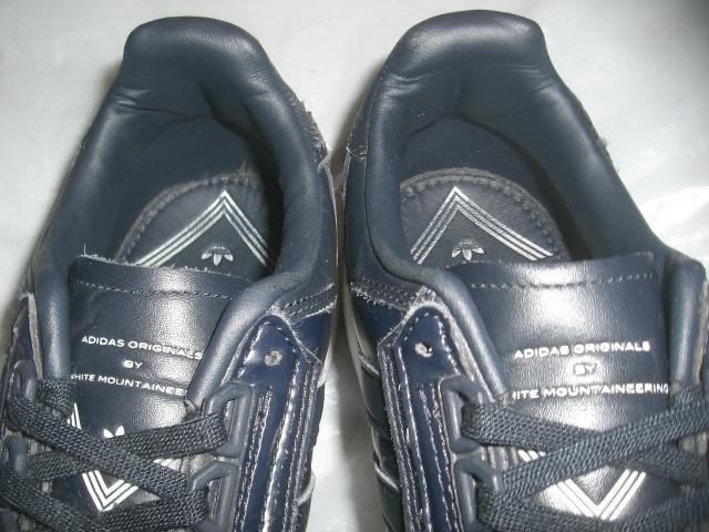 ★美U/別注 アディダス×ホワイトマウンテニアリング WM FORMEL 1 レザー`15製オリジナルス adidas×WHITE MOUNTAINEERING フォーミュラ 1_画像7