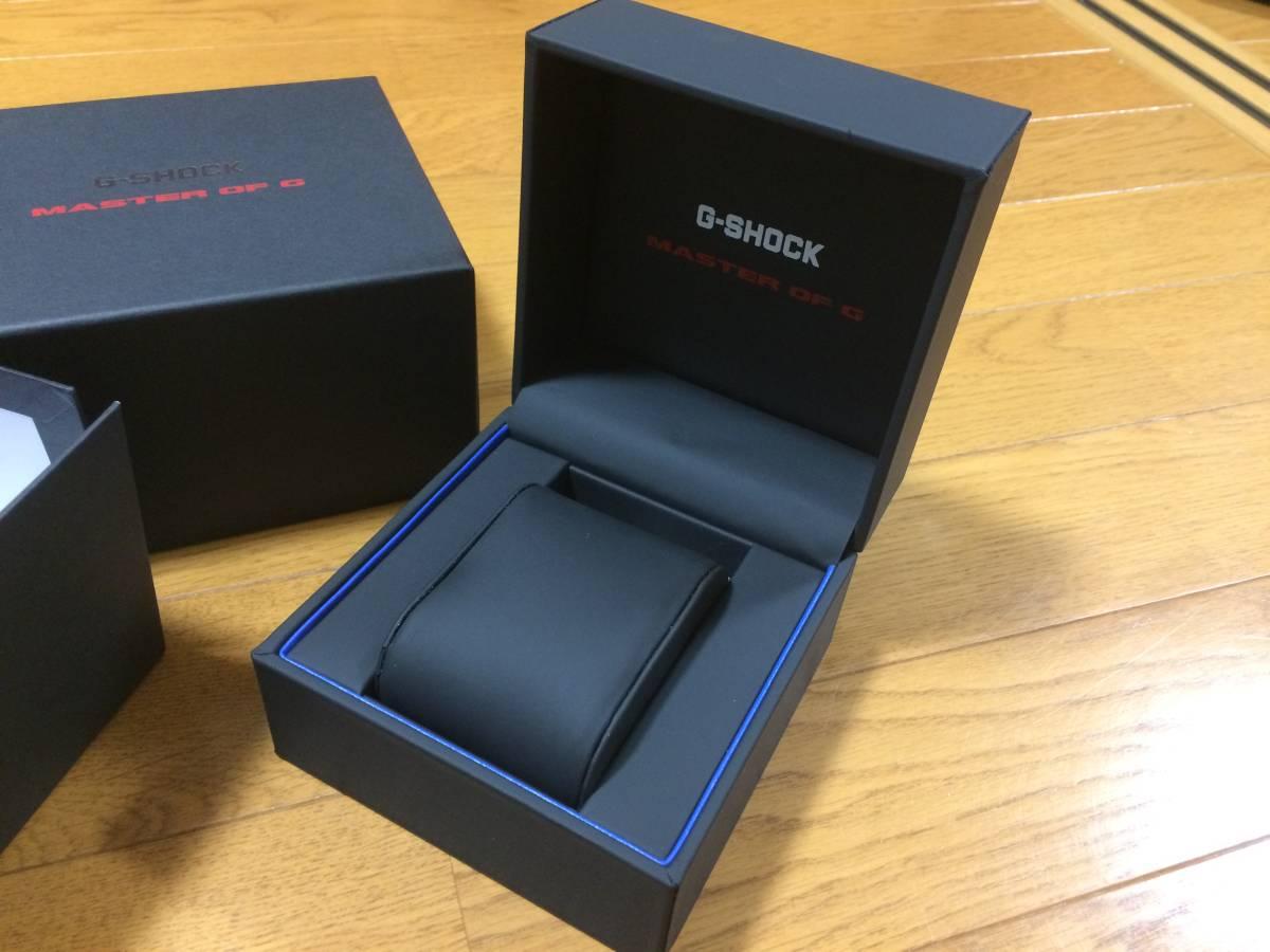 カシオ・G-SHOCK【MASTER of G】専用ボックス ー正規店購入ー付属品 ウォッチケース 化粧箱 BOX_画像2