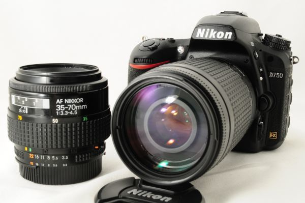 ★ショット数3164枚★ニコン Nikon D750 超望遠 300mm ダブルズームセット 新品と見間違う程のきれいな外観! #307_画像2