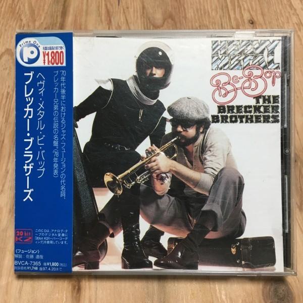 AMECD0311/CD 20bit K2CD 帯付 ブレッカー・ブラザーズ - ヘヴィ・メタル・ビ・バップ_画像1