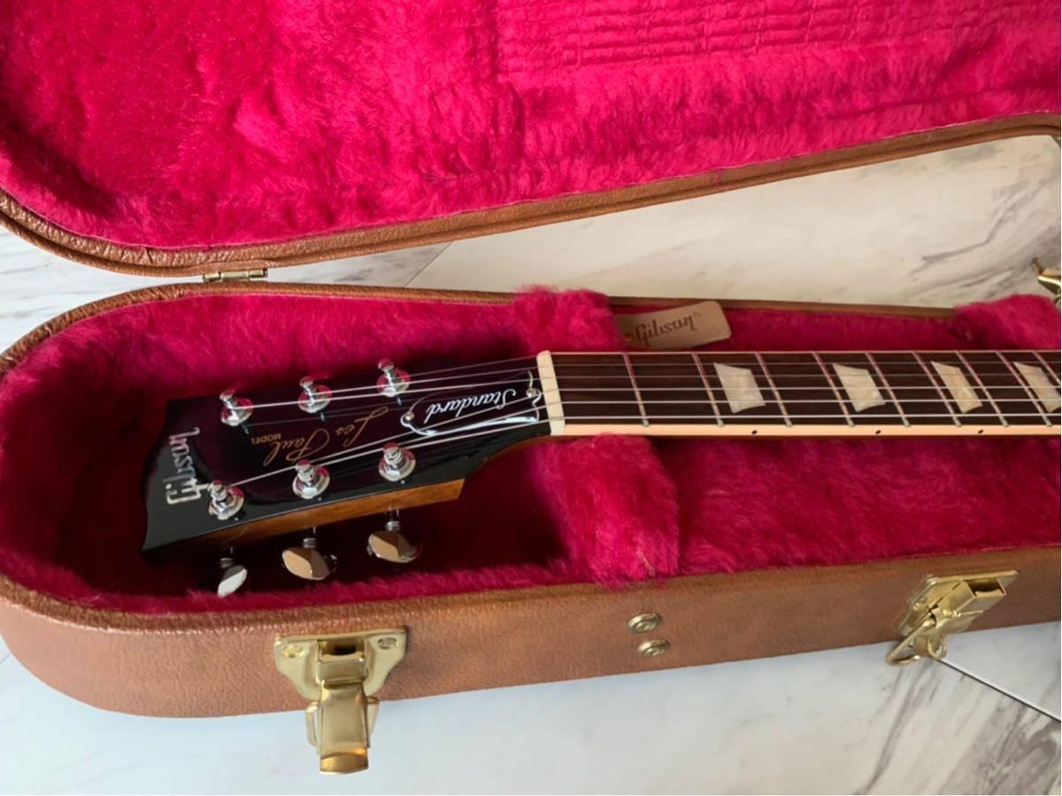 【世界限定100本 激レア】Gibson USA Les Paul Standard 120 Light Flame Top AAAグレード_画像2