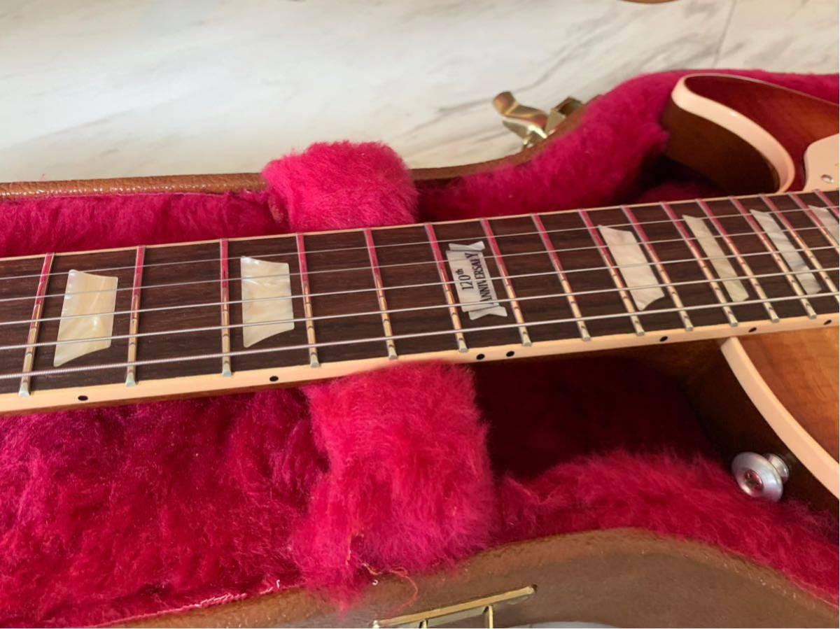 【世界限定100本 激レア】Gibson USA Les Paul Standard 120 Light Flame Top AAAグレード_画像4