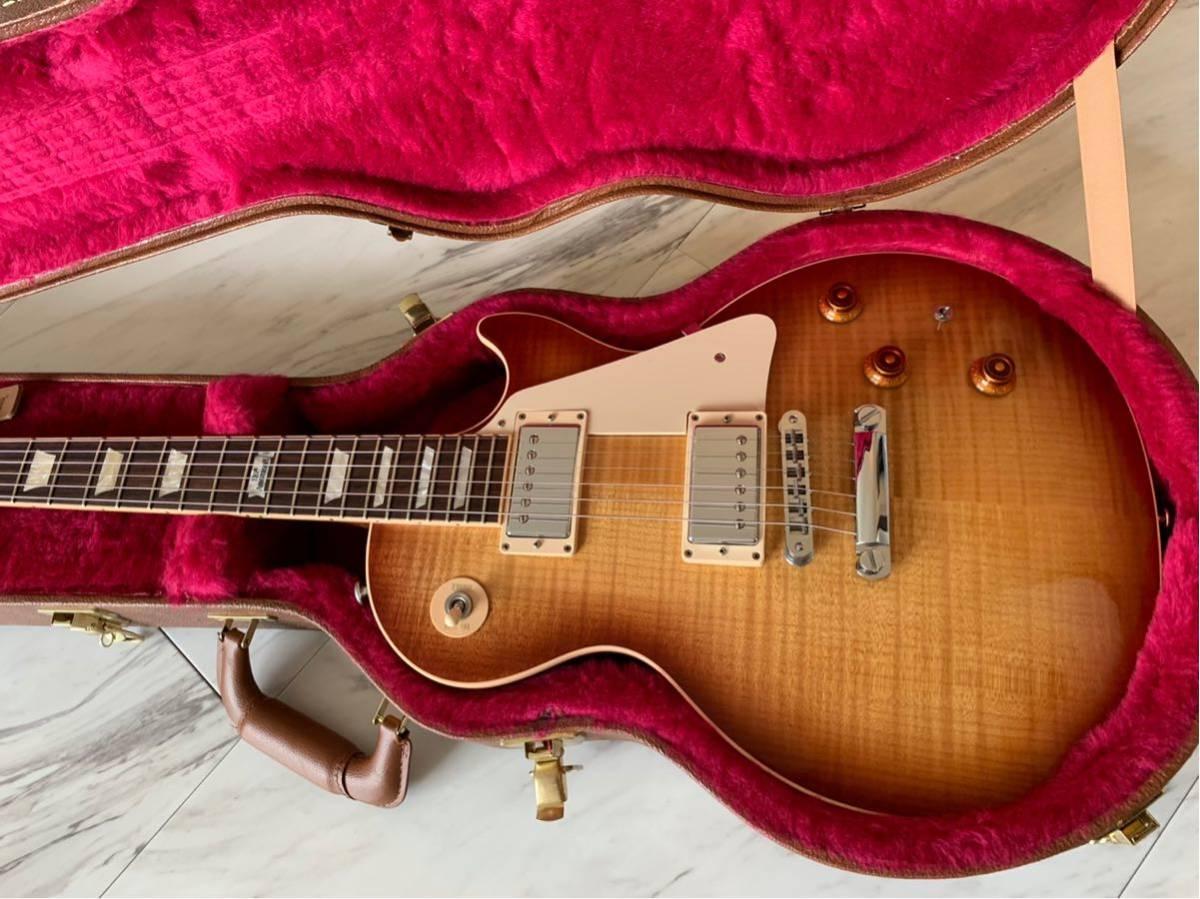 【世界限定100本 激レア】Gibson USA Les Paul Standard 120 Light Flame Top AAAグレード