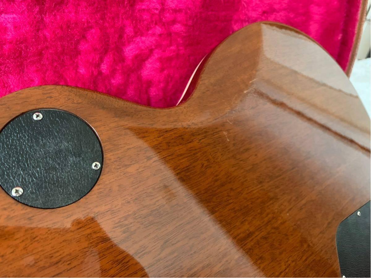 【世界限定100本 激レア】Gibson USA Les Paul Standard 120 Light Flame Top AAAグレード_画像5