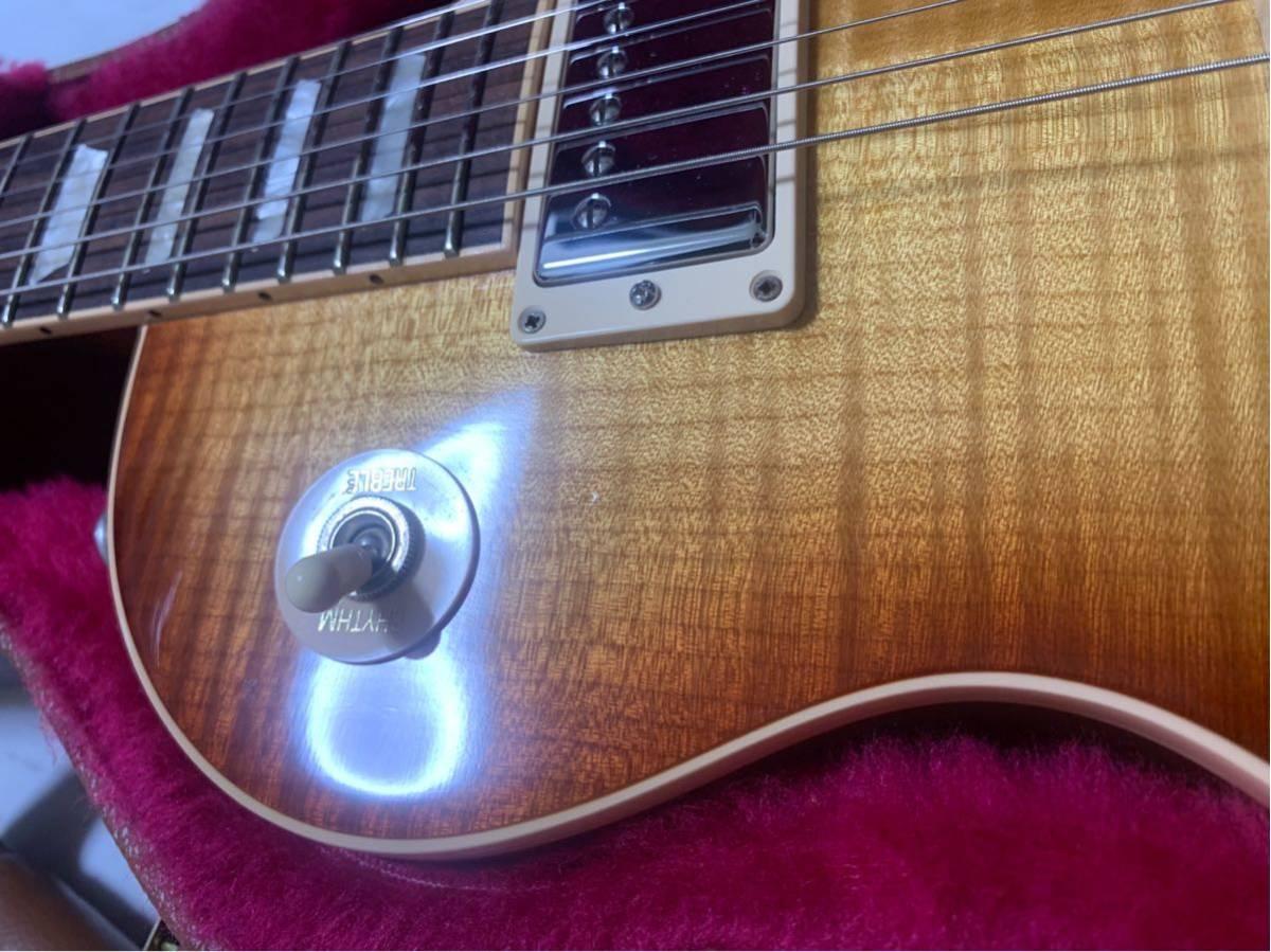 【世界限定100本 激レア】Gibson USA Les Paul Standard 120 Light Flame Top AAAグレード_画像7