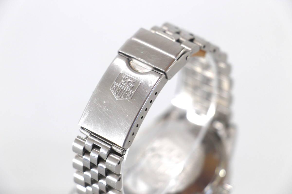 【超希少 旧ロゴ】TAG HEUER 1000 QUARTZ 200m クオーツ プロフェッショナル 腕時計 タグホイヤー レトロホイヤー サブマリーナ ビンテージ_画像5