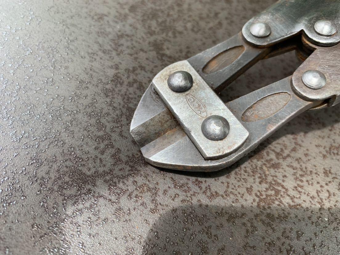 圧着ペンチ 裸圧着端子用 圧着工具 MCC ボルトクリッパー カッター 2品セット 中古 定形郵便_画像5