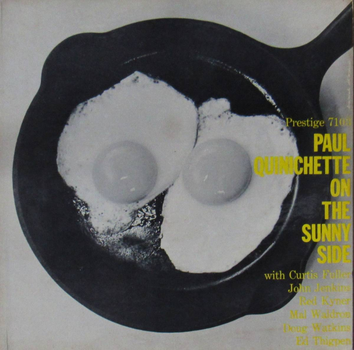 LP◆PAUL QUINICHETTE / On The Sunny Side◆orig. mono DG RVG刻印 N.Y.盤
