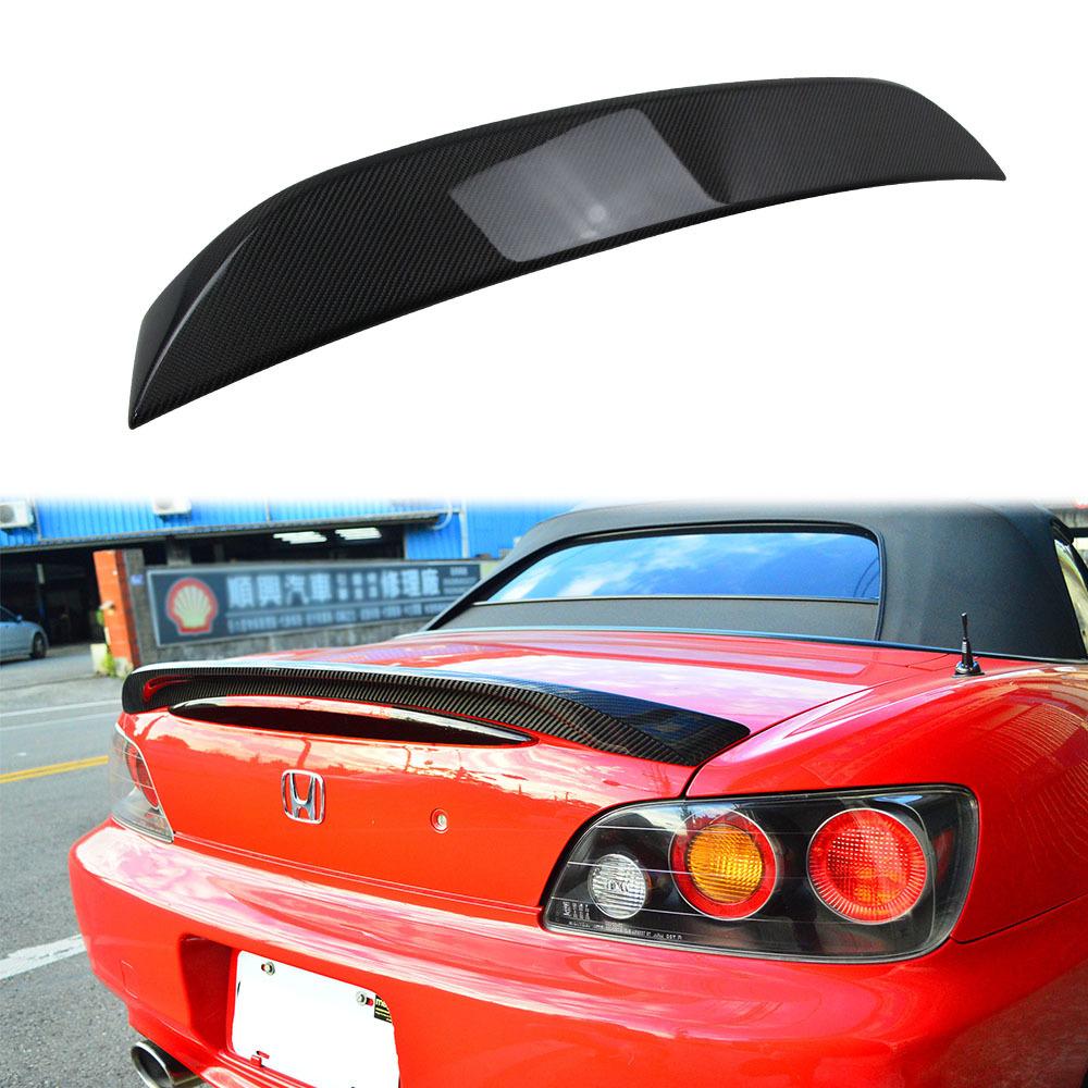 00-09 ホンダ S2000 AP1 AP2 リアスポイラー トランクスポイラー カーボン製 トランクウィングスポイラー ロードスターも対応_画像1