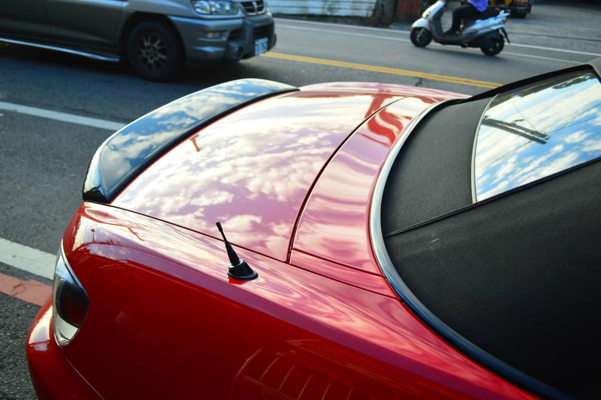 00-09 ホンダ S2000 AP1 AP2 リアスポイラー トランクスポイラー カーボン製 トランクウィングスポイラー ロードスターも対応_画像5
