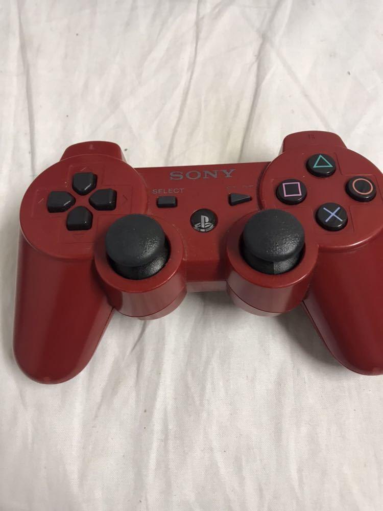 【1円~】PlayStation3/プレステ3/PS3 ゲーム機本体 CECH-4000C コントローラー付き ブラック 500GB ジャンク_画像9
