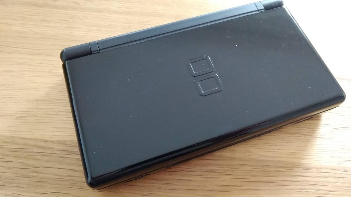 任天堂 DS Lite 本体 ジェット ブラック 黒 ドラゴンクエストⅨ 9 ドラクエ 星空の守り人_画像6