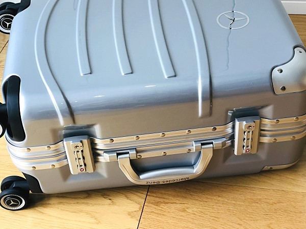 高級※Mercedes-Benz ※アルミフレーム・軽量/超静音・オリジナル・スーツケース/キャリーケース/機内持ち込可/20インチ※シルバー_画像8