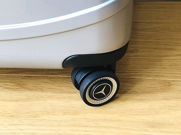 高級※Mercedes-Benz ※アルミフレーム・軽量/超静音・オリジナル・スーツケース/キャリーケース/機内持ち込可/20インチ※シルバー_画像9