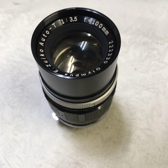 ※ OLYMPUS オリンパス PEN-F 202453/ G.Zuiko Auto-S 1:1.4 f=40mm150521/ E.Zuiko Auto-T 1:3.5 f=100mm 222330フィルムカメラ_画像4