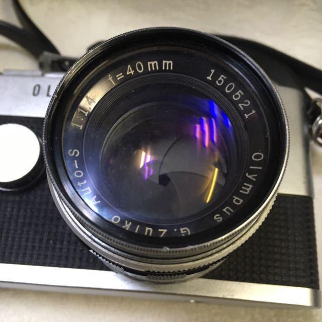 ※ OLYMPUS オリンパス PEN-F 202453/ G.Zuiko Auto-S 1:1.4 f=40mm150521/ E.Zuiko Auto-T 1:3.5 f=100mm 222330フィルムカメラ_画像3
